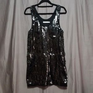 See by Chloe Sequins Shift Dress